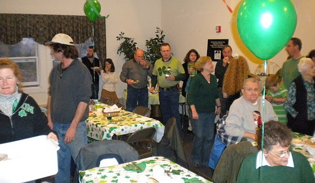 St. Patrick's Day Dinner, Mar 12th
